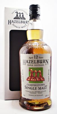 A collectors Malt you may have missed Hazelburn Scotch Whisky 12 year old 46% http://whiskys.co.uk/Hazelburn-Single-Malt-Scotch-Whisky/prod_1777.html#