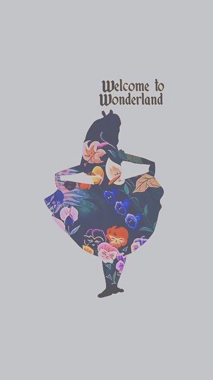 Pin di Greta su wonderland Sfondi iphone, Sfondi, Disney