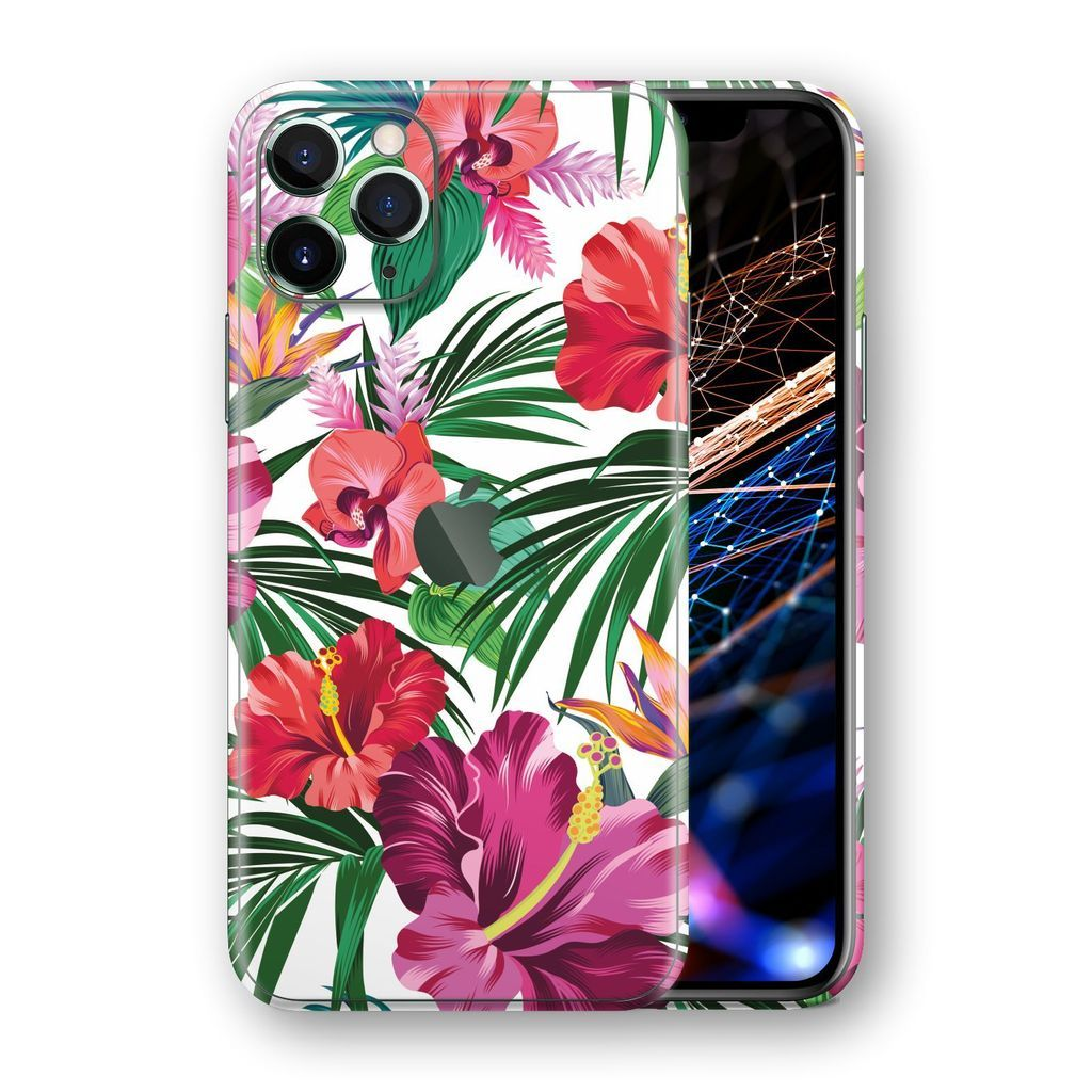 iPhone 11 Pro MAX SIGNATURE Abstract Blooming Flowers Skin