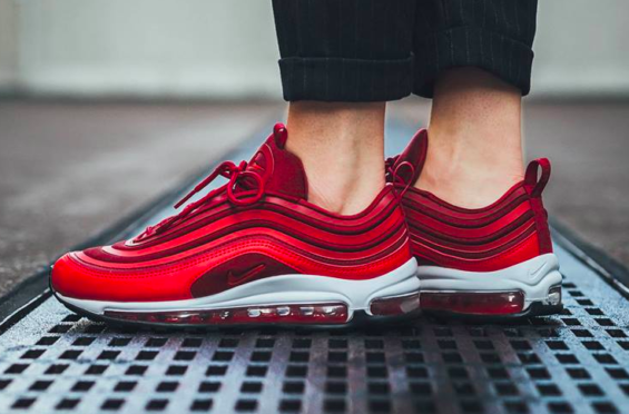 newest c8e1a ce504 Nike WMNS Air Max 97 Ultra Gym Red Perfect For Valentine's ...