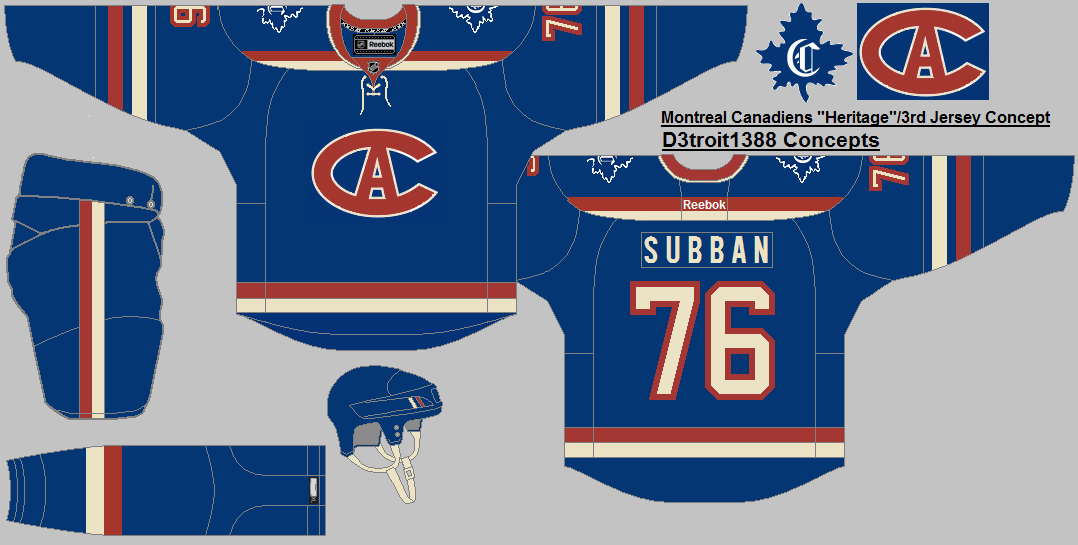 Chandail Alternatif Des Canadiens 3 Montreal Canadiens Jersey Sports Jersey