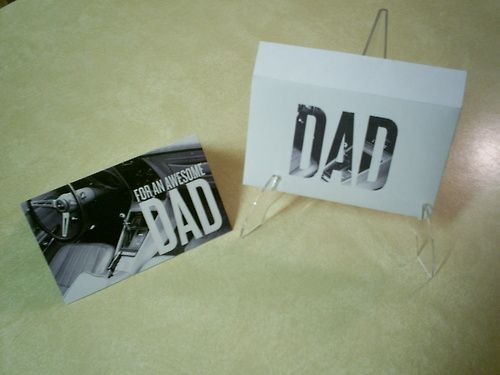 Father's Day Card and Envelope