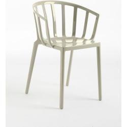 Photo of Kartell Stapelsessel Venice grau, Designer Philippe Starck, 75x51x51 cm Kartell