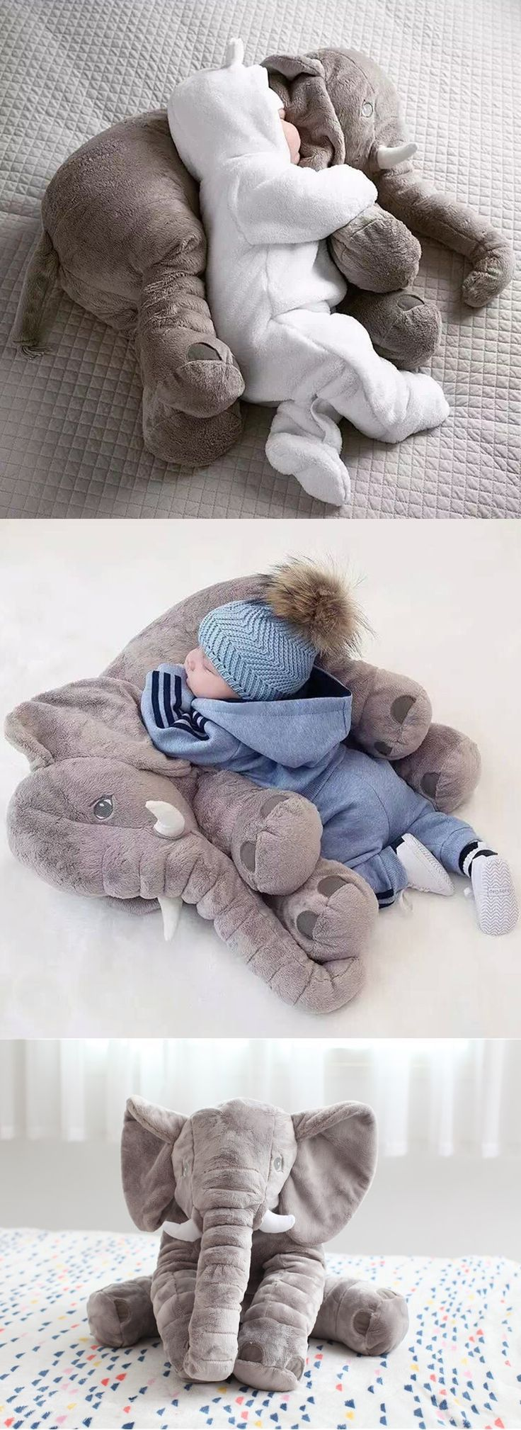 Baby Elephant Pillow images