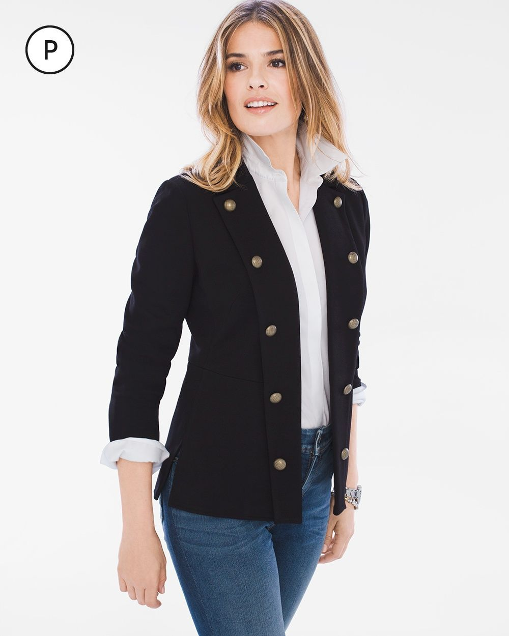 Nautical blazer | Passion for Fashion | Pinterest | Style, Outfits and  Fashion