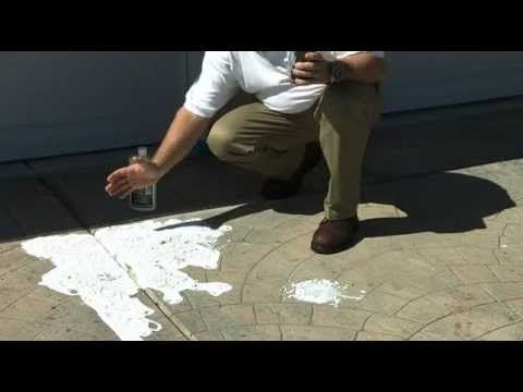 Tinted Sealer On Concrete Driveway