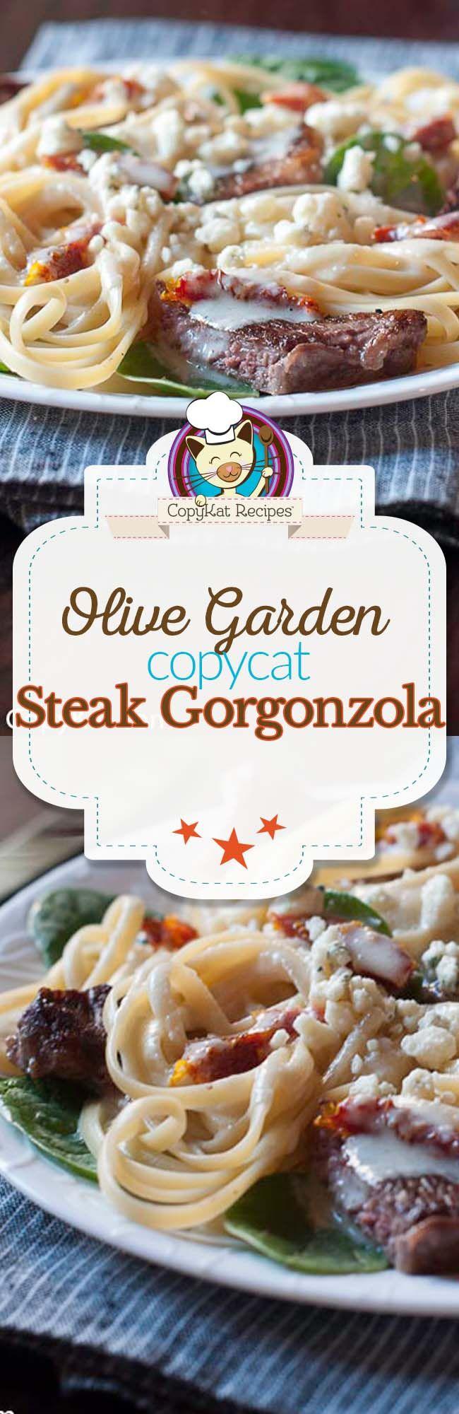 Olive Garden Steak Alfredo Copycat Recipe