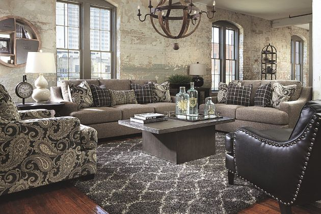 Best Perfectly Tailored Charcoal Gray Living Room Furniture 400 x 300