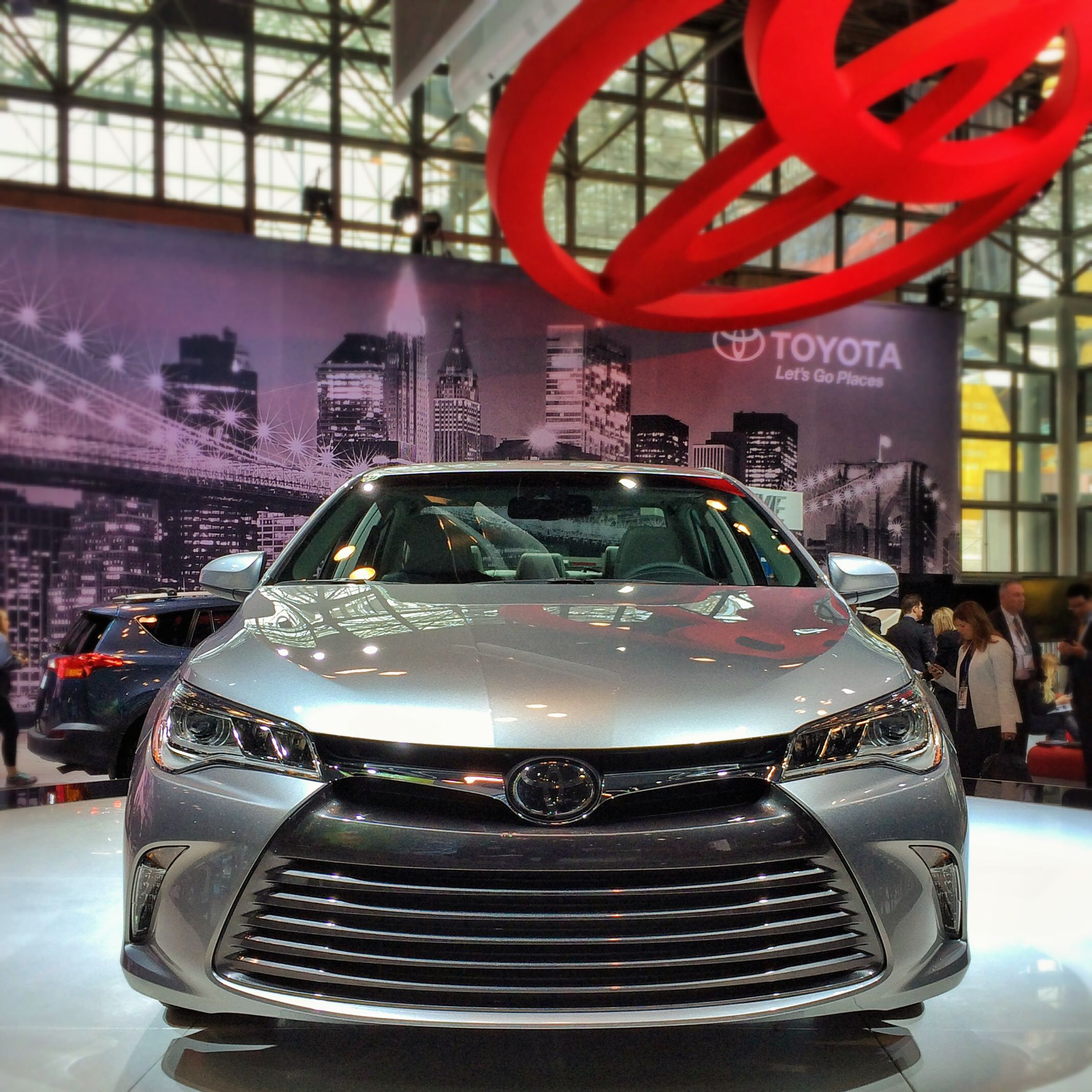 2015 Toyota Camry XLE At NYIAS