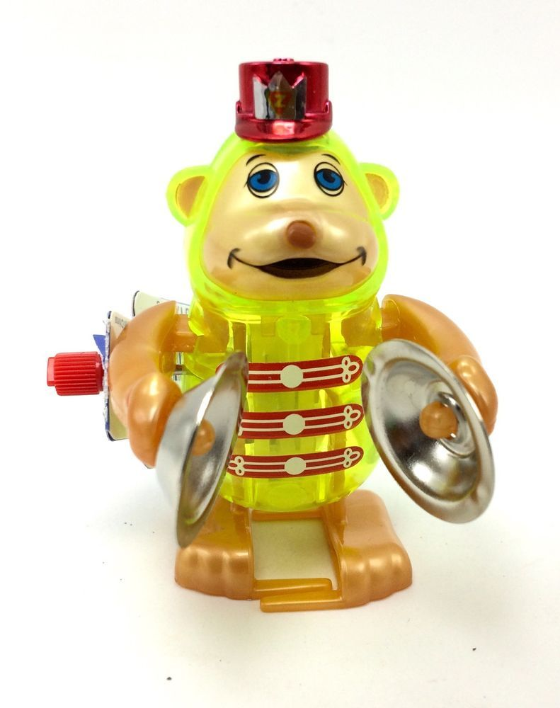 California Creations Z Monkey With Cymbals Tucker Windup Toy