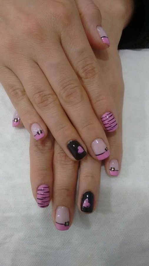 #naildesign #nail #design #frances (con imágenes) | Uñas ...