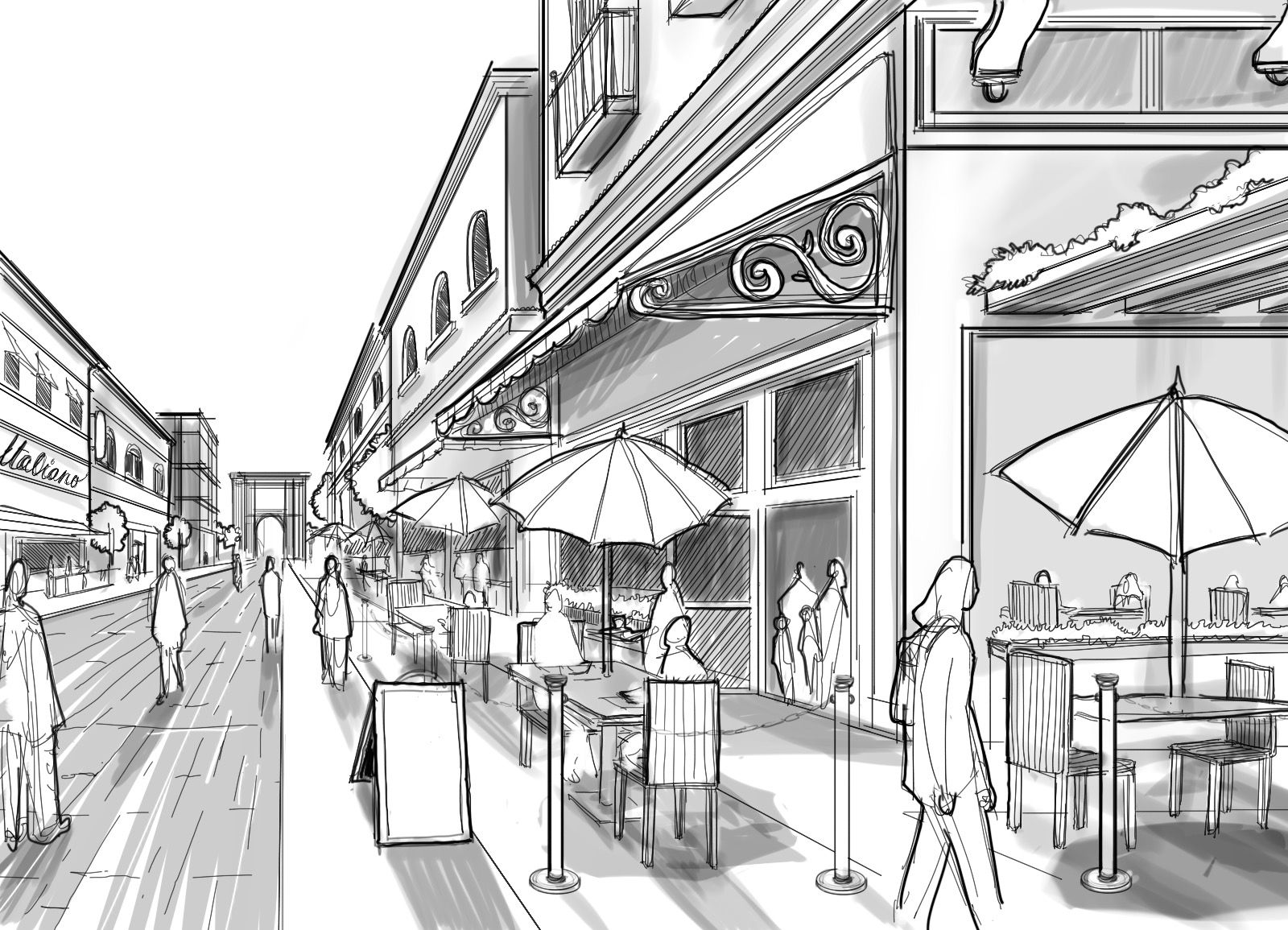 Perspective Guides: How to Draw Architectural Street ...