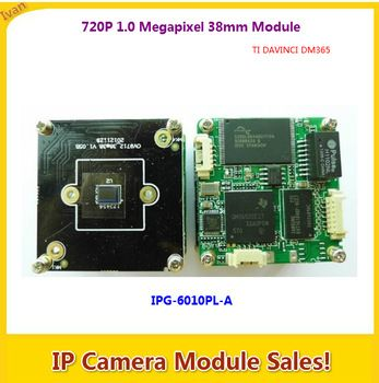 720P ONVIF IP Camera Module IPG-6010PL-A,1 0MegaPixel IP