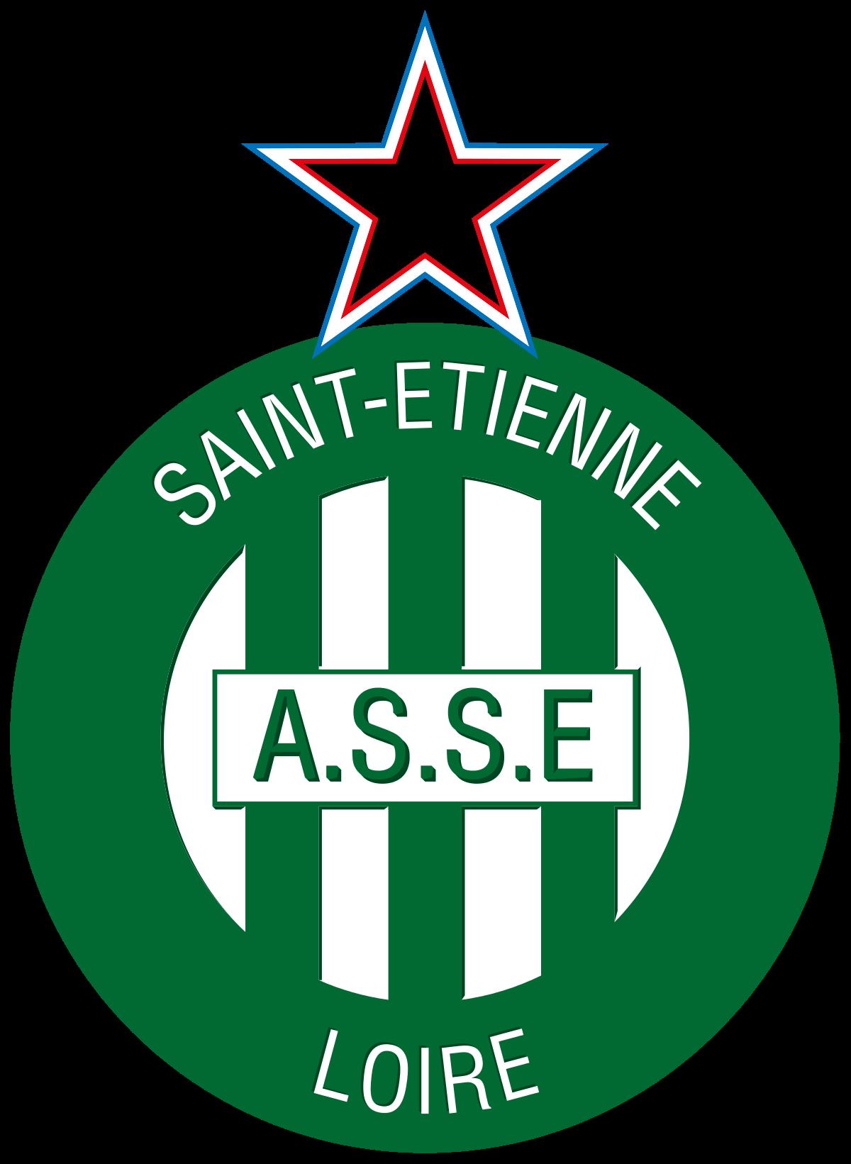 Saint Etienne Logo Ligue 1 France Saint Etienne Football Logo Soccer Logo
