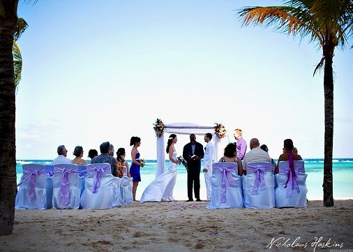 Wedding Ceremony Riu Ocho Rios Hotel Jamaica