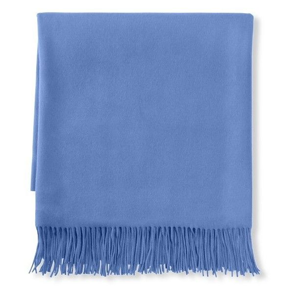 WilliamsSonoma Solid Cashmere Throw 40 Liked On Polyvore Classy William Sonoma Throw Blankets