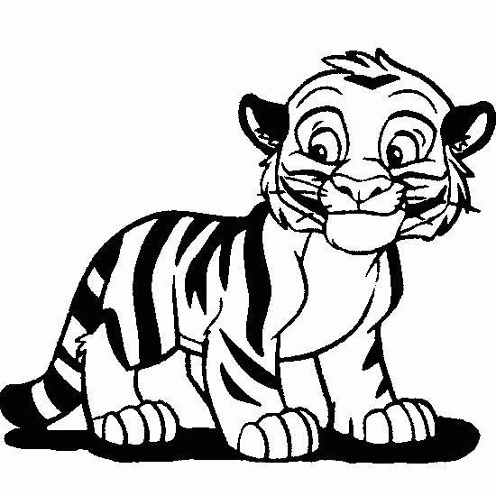 Dibujos De Tigres Cerca Amb Google Dibujos Dibujo Tigre