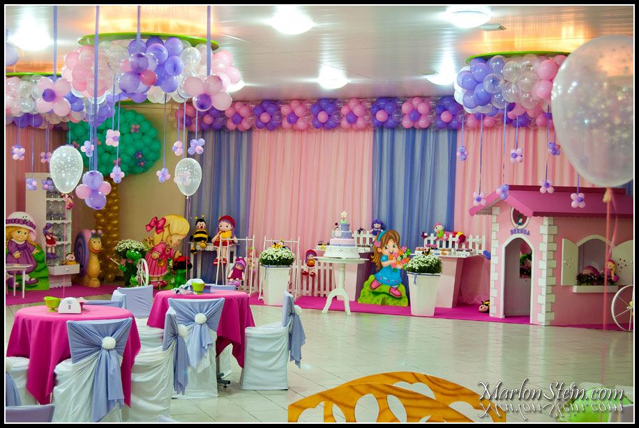Ideas for 1st birthday party for girl 7 birthday for Baby girl first birthday party decoration ideas