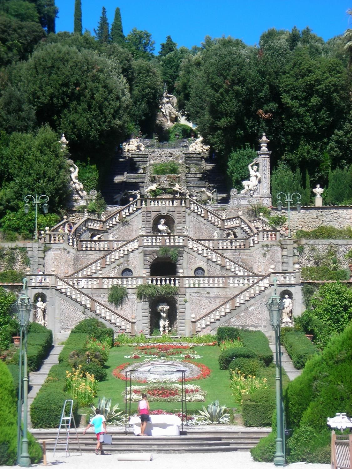 Villa Garzoni Garden San Gennaro Collodi Italy Collodi Is The