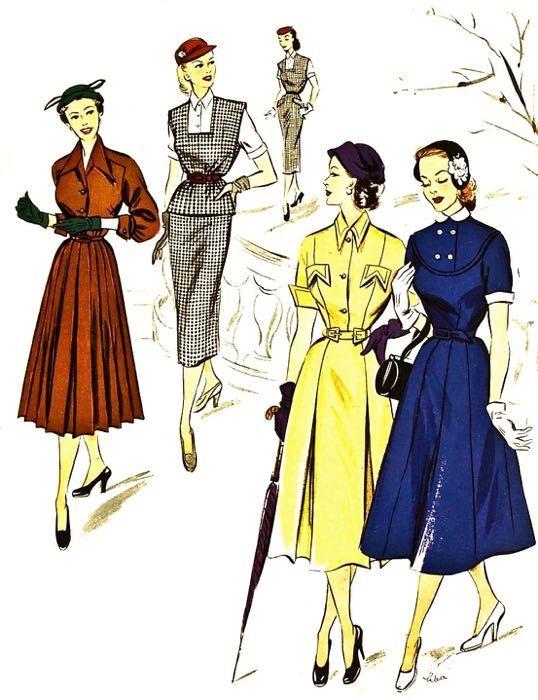 1952, Der Neue Schnitt