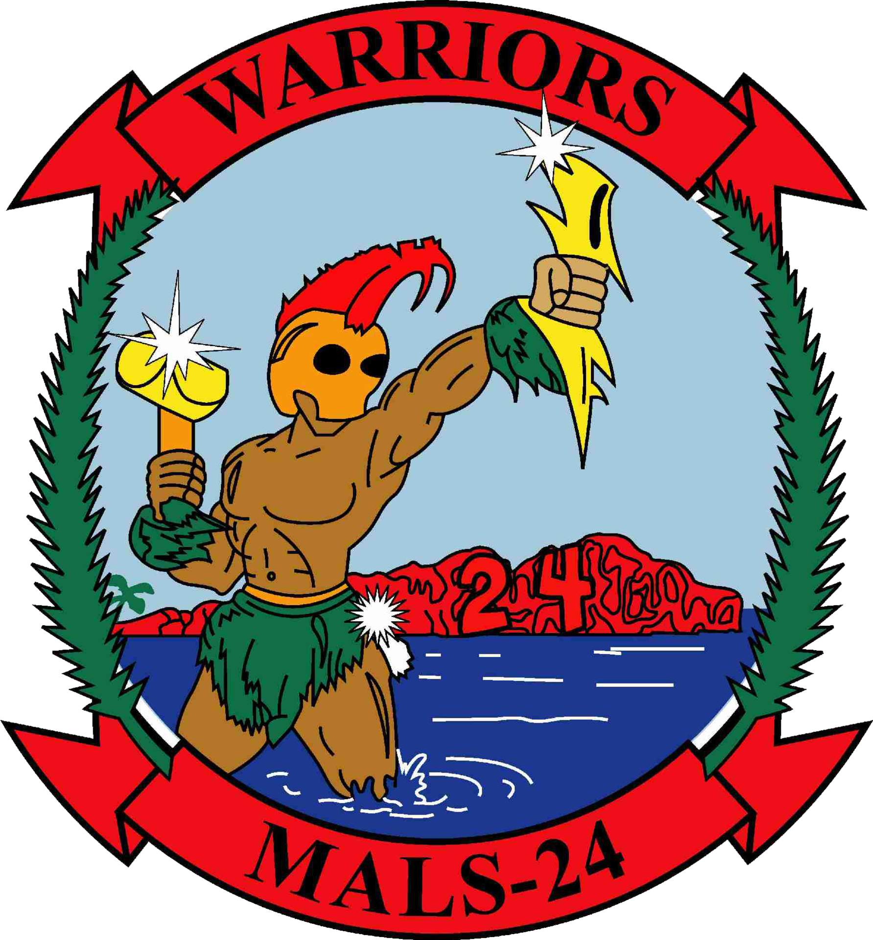 Marine Aviation Logistics Squadron 24 Mals 24 Is An