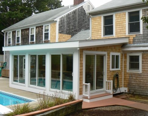 Flat Roof Sunroom Design Plans How To Design A Sunroom