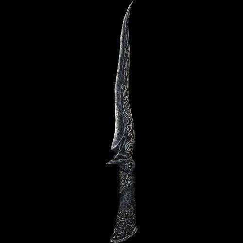 Ebony dagger
