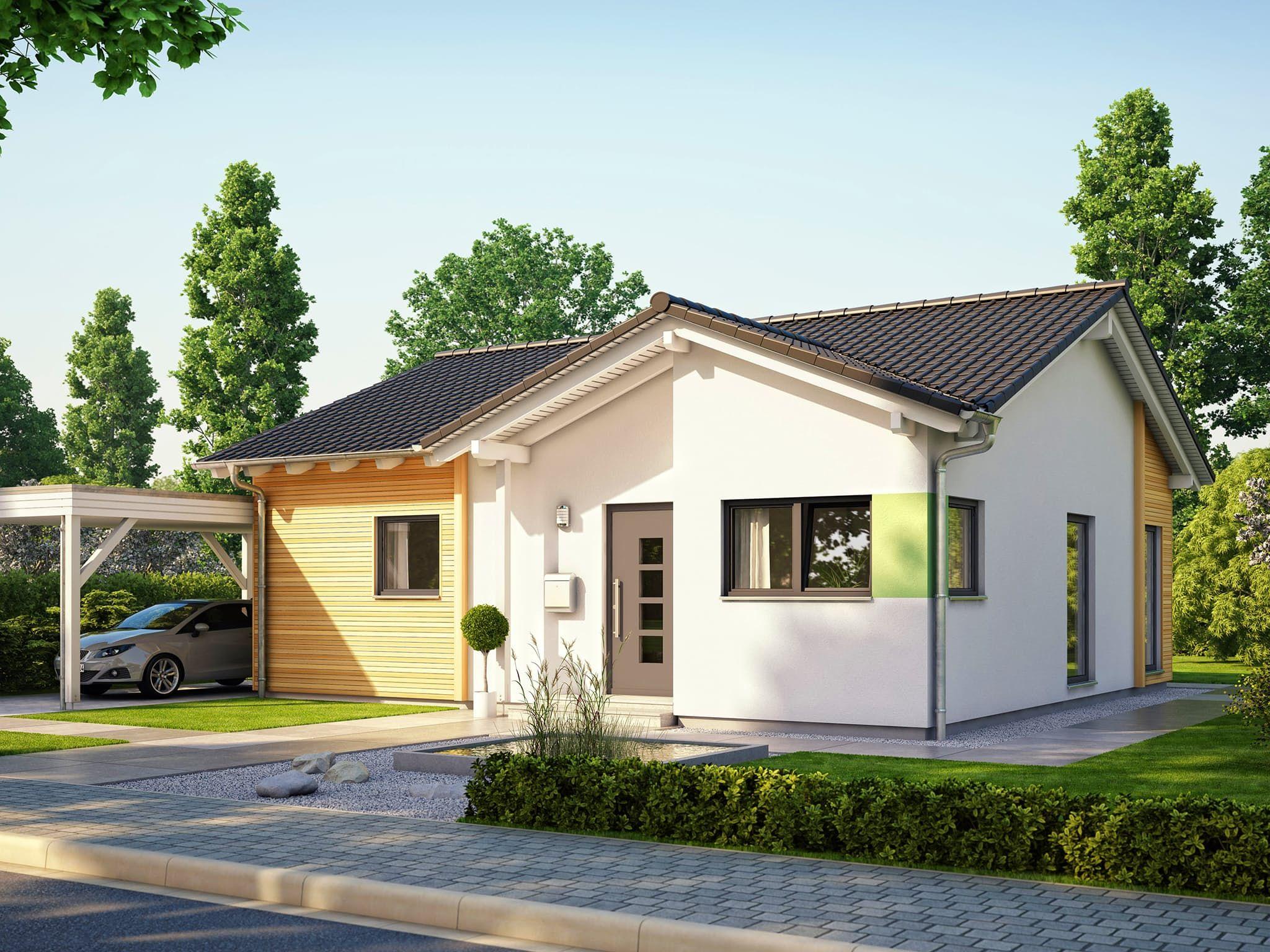 Gunstige Hauser Bauen Schlusselfertig Bungalow Haus Bauen