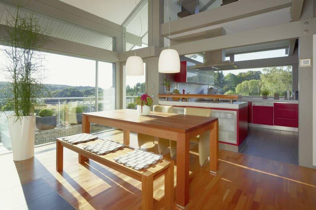 k che esszimmer im holz fachwerkhaus art 3 von huf haus inneneinrichtung pinterest. Black Bedroom Furniture Sets. Home Design Ideas