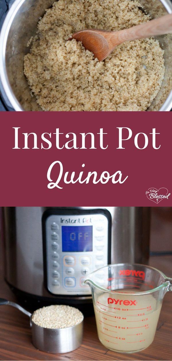 Photo of Instant Pot Quinoa Recipe