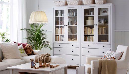 Hemnes Serie Sejour Salle A Manger Ikea Salon Ikea Meuble Rangement Salon