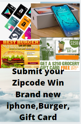 Submit your Zipcode Win Brand new iphone,Burger,gift Card. #giftideas#thebestgift#craftedgifts#gifts#christmaegifts#christmasgiftideas#giftstomake#bestburgersever#christmasburger#burgerdinner#iphone6s#phones# phoneiphone#iphone6phone#iphoneideas#iphonestuff#iphoneproducts#iphonephone#