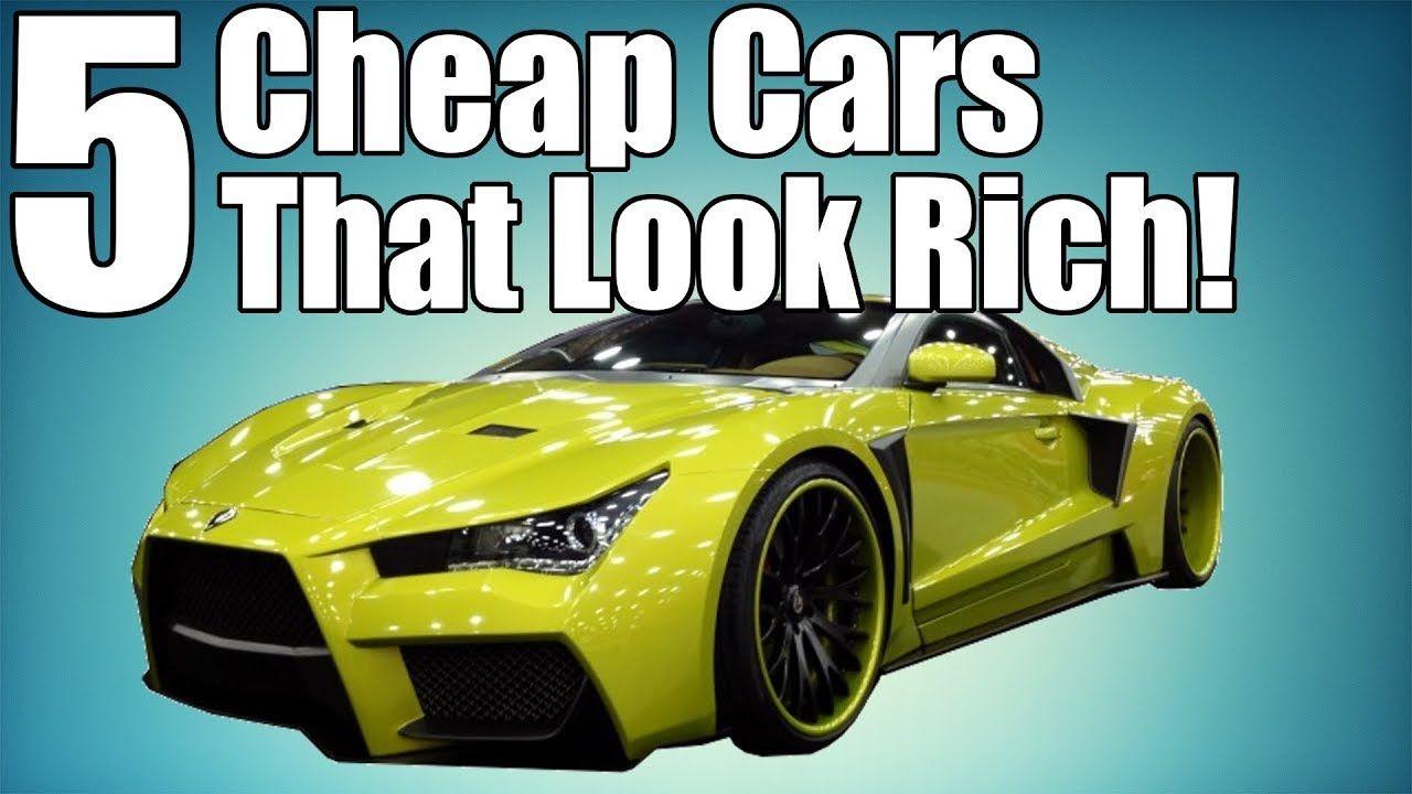 5 Cheap Cars That Make You Look Rich! Cheap cars, Cool