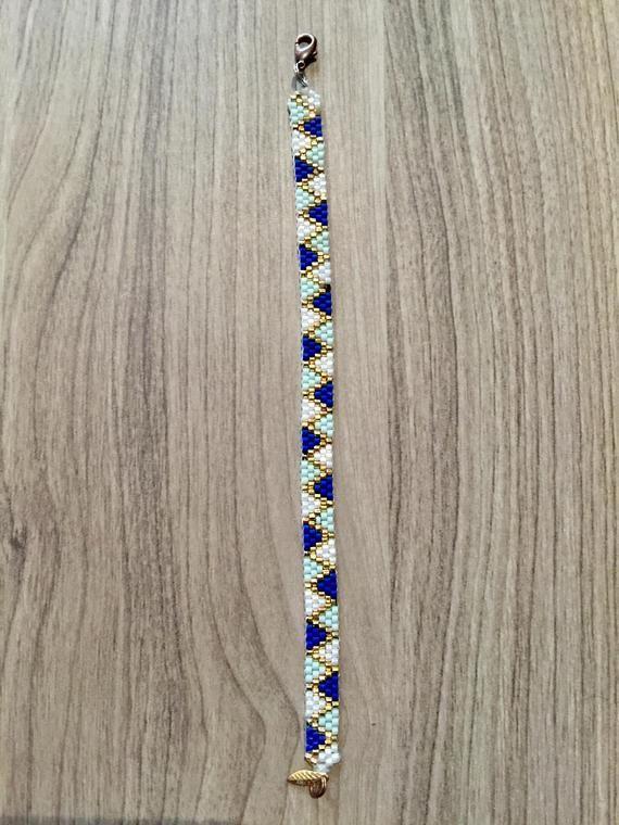 Photo of Miyuki majorelle woven bracelet   Etsy