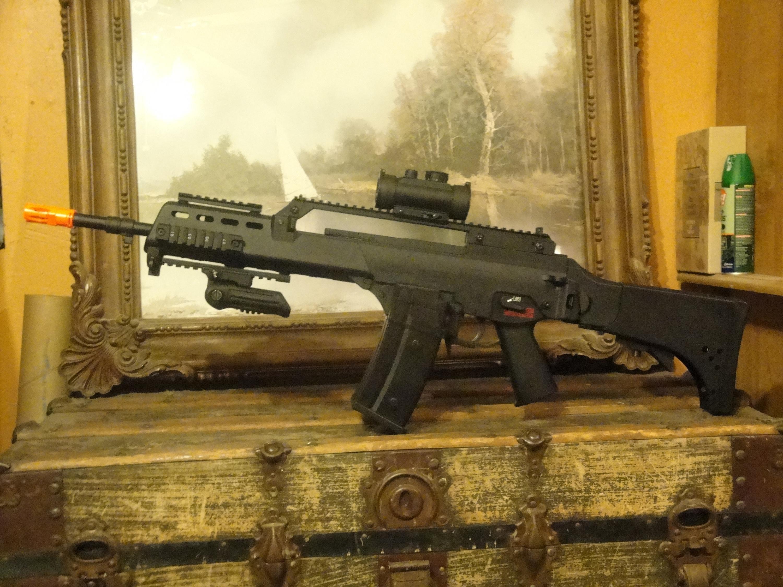 SRC SR6KV(G36KV) Gen2 Review   airsoft guns   Guns, Airsoft
