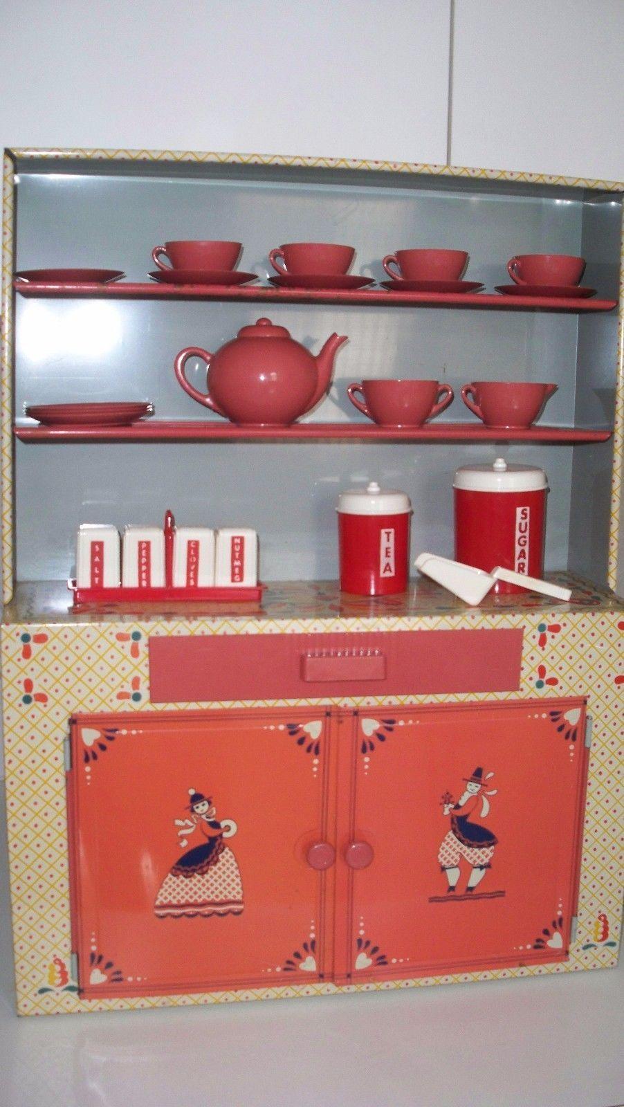 Vintage Toy Kiddie Kitchen Set from The 1950'S eBay
