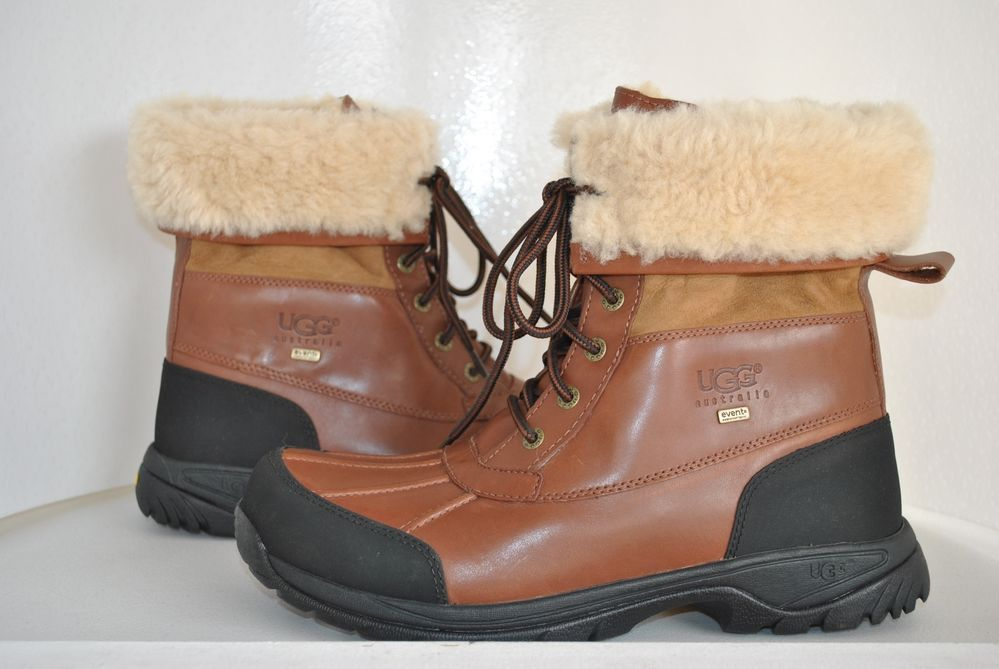 99374201b17 UGG Men's Butte Light Brown Leather Boots 5521 U.S Size 11.5 | Stuff ...
