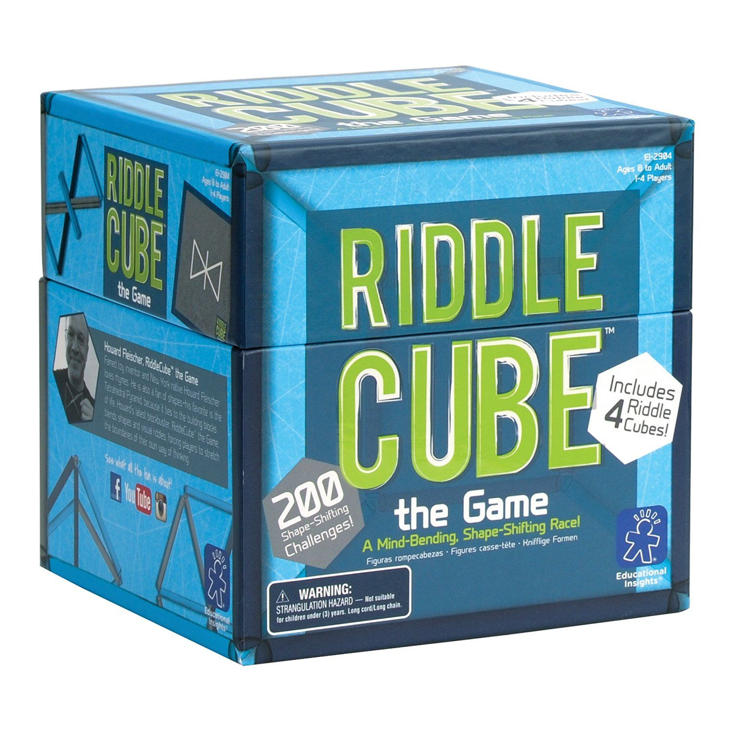 EDUCATIONAL INSIGHTS RIDDLECUBE THE GAME Toys