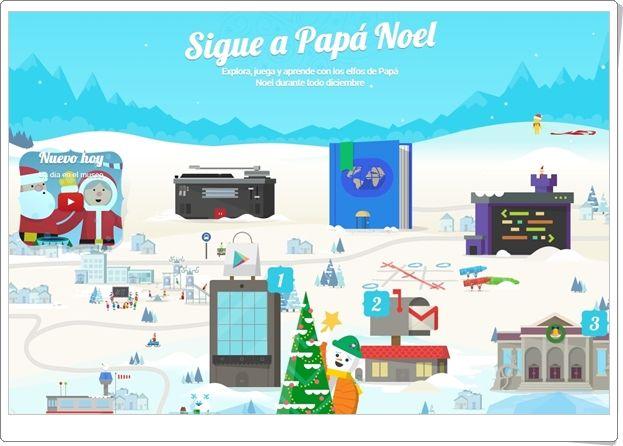 Sigue A Papa Noel Con Google Juegos De Navidad 2017 La Navidad