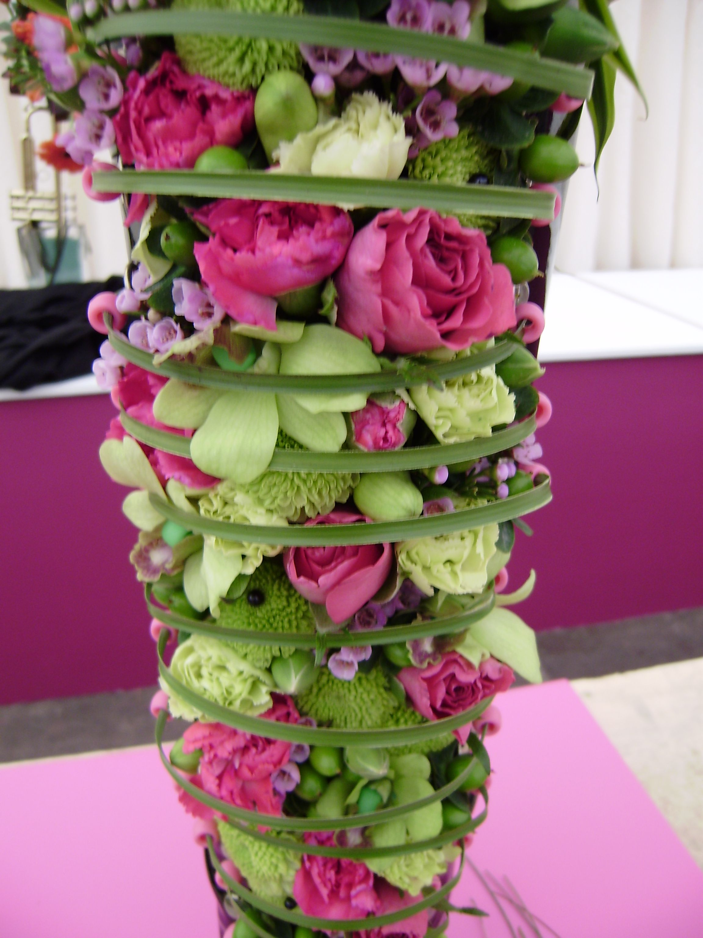 Stunning Competition Piece From Floristry Comp At Harrogate Spring