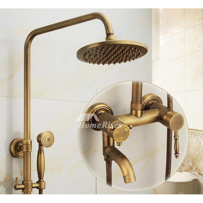 Antique Brass Bathroom Faucet Brushed Gold Single Handle Vintage In 2020 Antique Brass Bathroom Faucet Bathroom Faucets Brass Bathroom