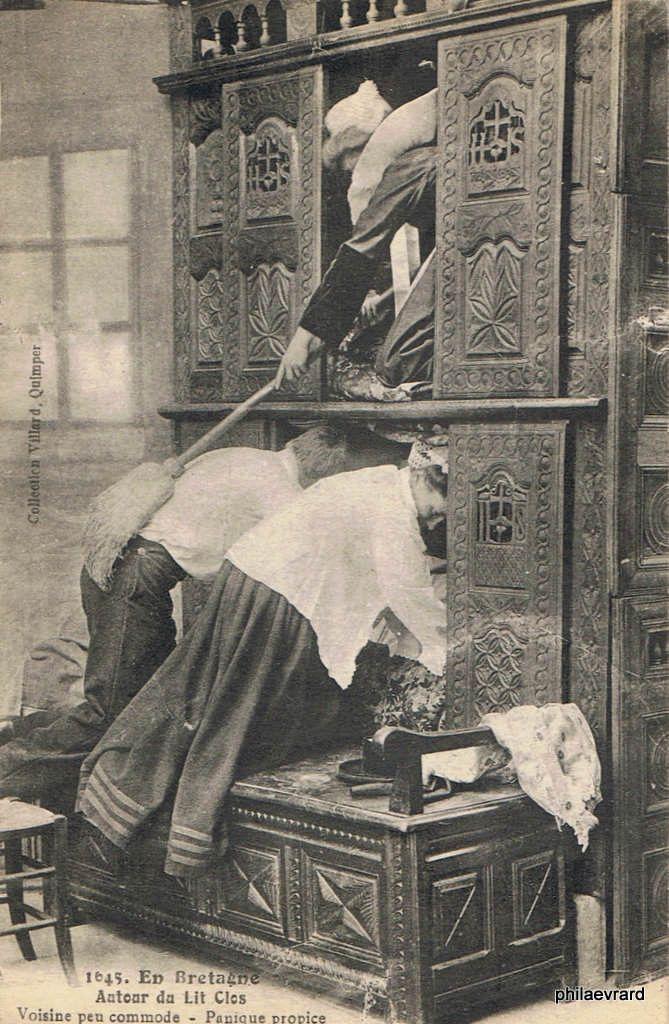 pingl par francis louis le garrec sur lits clos bretons pinterest bretagne le retro et la. Black Bedroom Furniture Sets. Home Design Ideas