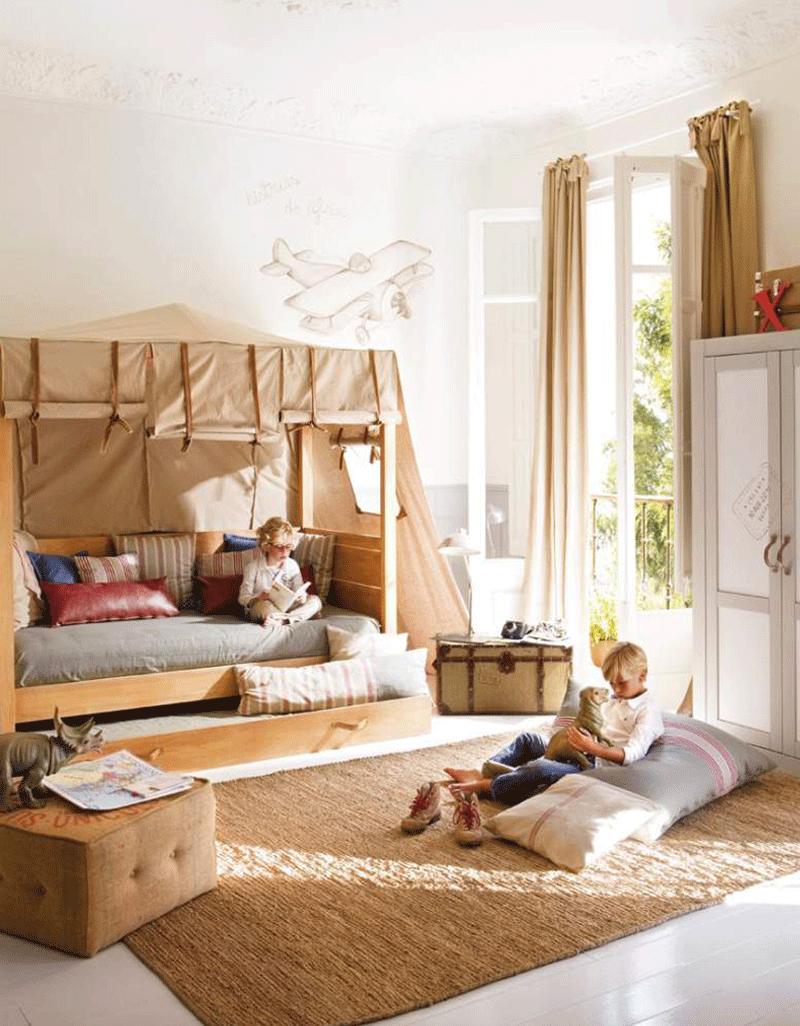 jungle bed canopy on Safari Chic Kids Rooms By Kids Interiors Safari Room Kids Room Design Creative Kids Rooms