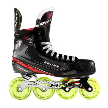 Bauer Vapor X2 9 Roller Hockey Skate Junior In 2020 Roller Hockey Skates Hockey Shoes Inline Skating