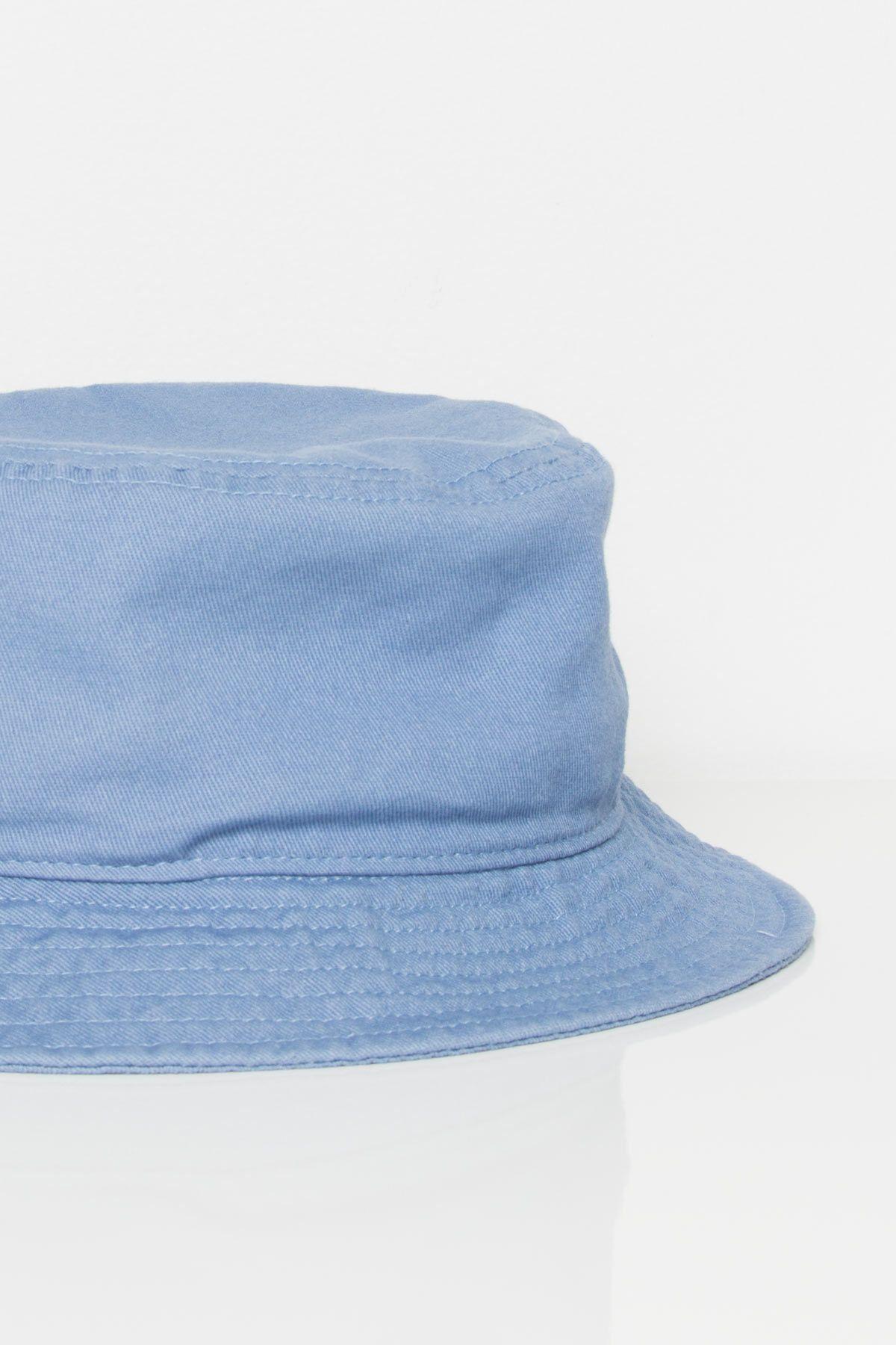 b71833cdde47f2 Dusty Blue Bucket Hat in 2019   loooks   Hats, Bucket hat, Dusty blue