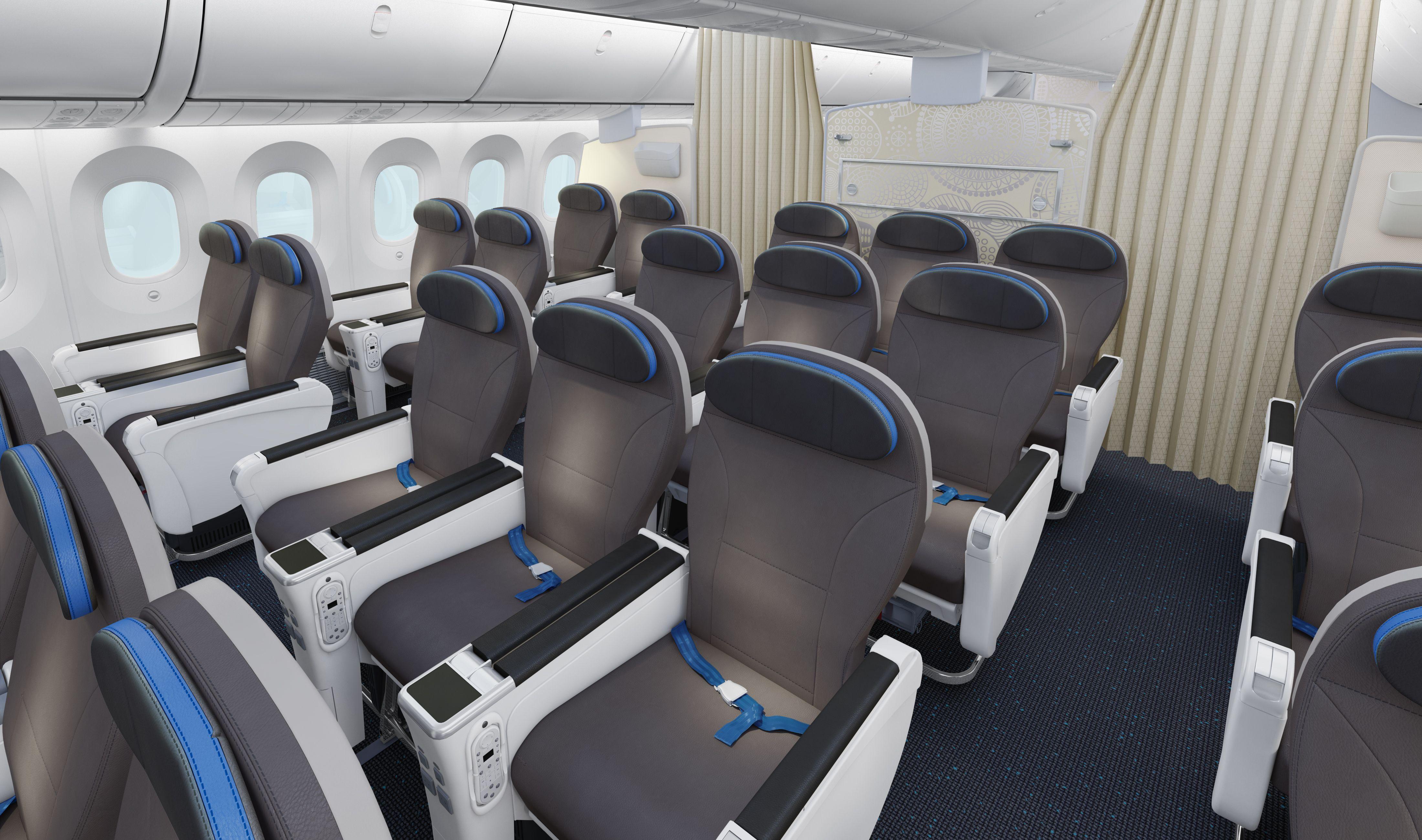 Boeing 7879 Dreamliner Economy Premium