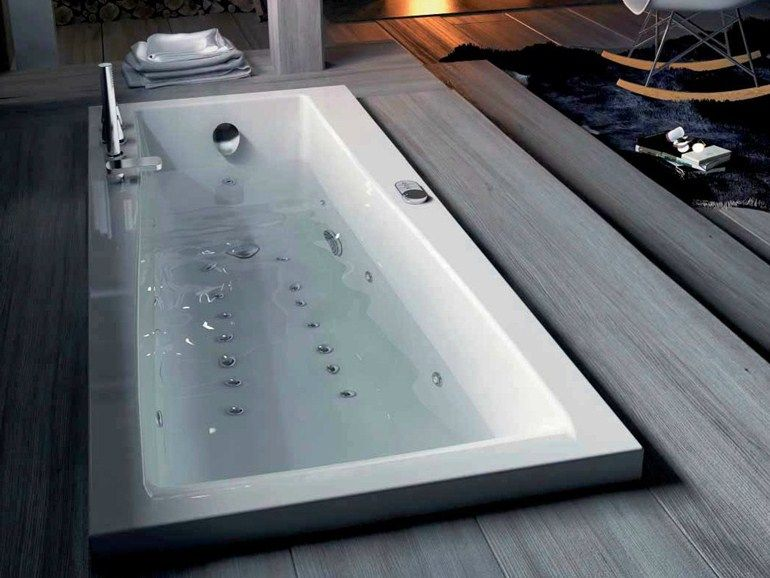 Vasca Da Bagno Moderna Da Incasso : Vasca da bagno idromassaggio da incasso urban b collezione steam