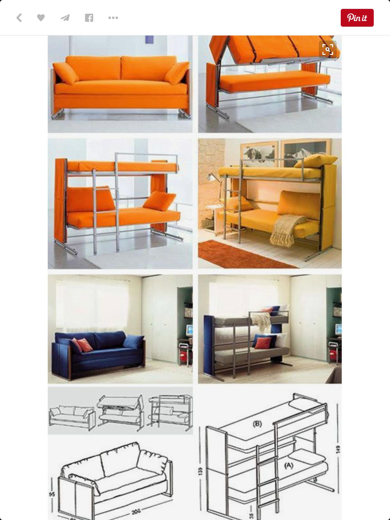Sopa Dua Pungsi Sopa Dua Pungsi Bedroom Space Saving Beds Dan Bed