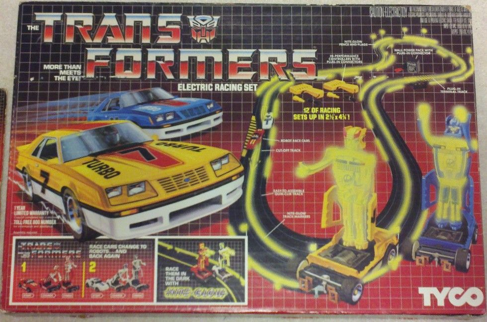 Transformers Electric Racing Set