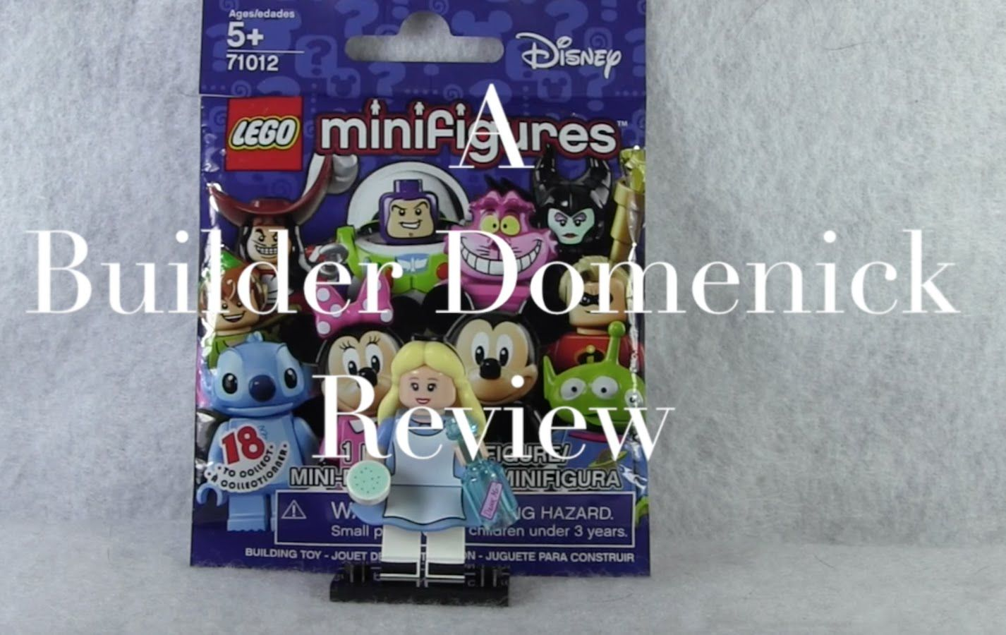 LEGO Alice Minifigure 71012-7 Disney Series Review